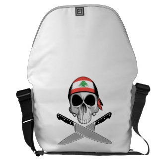 Lebanese Chef Courier Bags