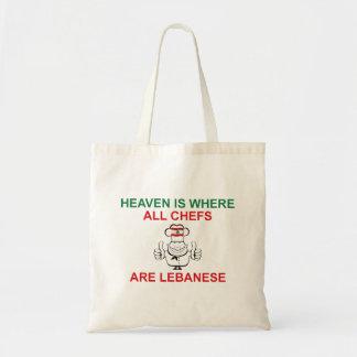 Lebanese Chefs Budget Tote Bag