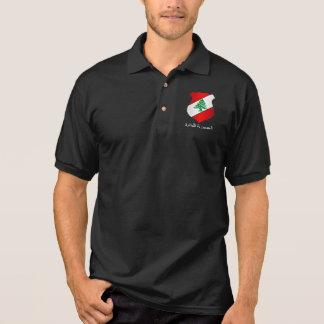 Lebanese Coat of Arms Polo Shirt