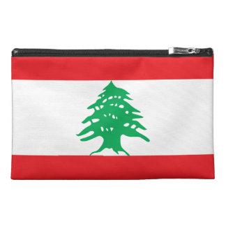 Lebanese Flag Travel Accessories Bags