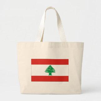 Lebanese Flag Bags