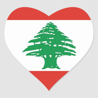 Lebanese Flag Stickers