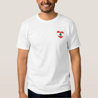 Lebanese Heart Men's T-Shirt