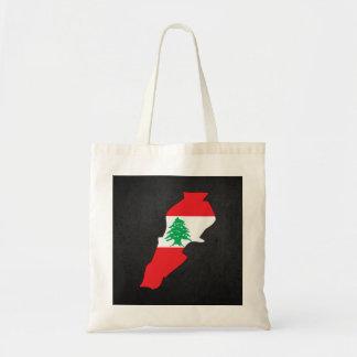 Lebanese Trip Souvenir Budget Tote Bag
