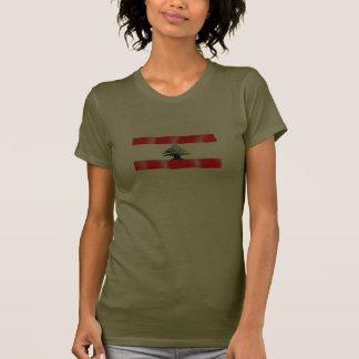 Lebanese Waving Flag Women's T-Shirt
