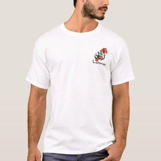 Lebanon 3D small logo bilingual Men's T-Shirt