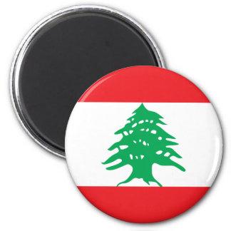 lebanon 6 cm round magnet