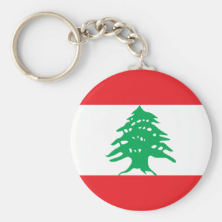 lebanon basic round button key ring