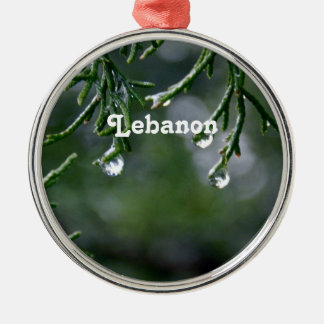 Lebanon Christmas Ornament