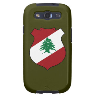 Lebanon Coat of Arms Galaxy SIII Covers