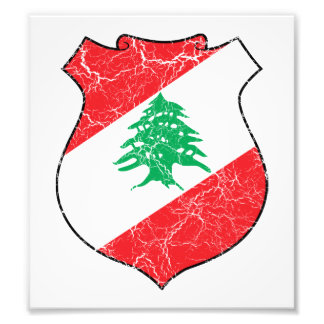 Lebanon Coat Of Arms Photograph