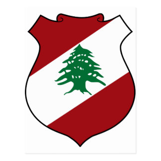 Lebanon Coat of Arms Postcard