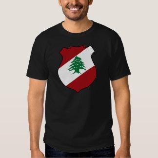 Lebanon Coat of Arms Tee Shirt