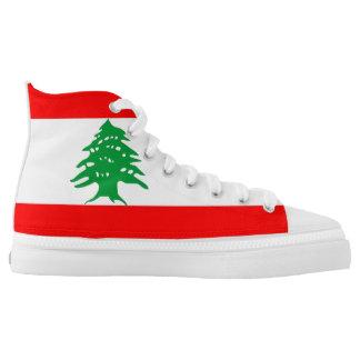Lebanon country flag symbol nation high tops