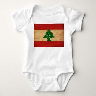 Lebanon Flag Baby Bodysuit