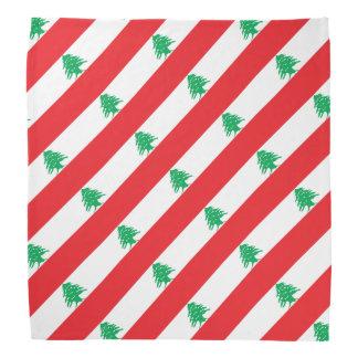 Lebanon Flag Bandana
