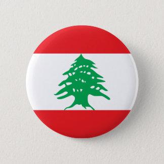 Lebanon Flag Button