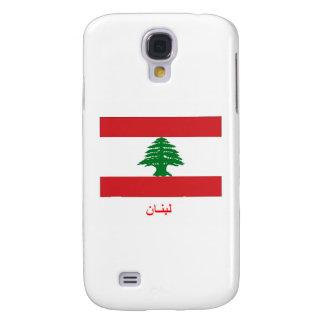 Lebanon Flag Galaxy S4 Cover