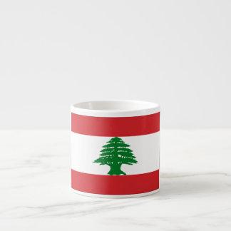 Lebanon Flag Espresso Cup