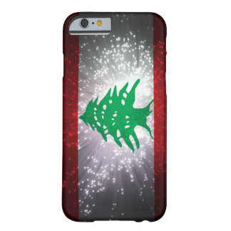 Lebanon Flag Firework Barely There iPhone 6 Case