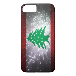 Lebanon Flag Firework iPhone 7 Case