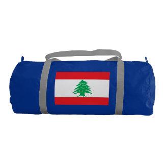 Lebanon Flag Gym Duffel Bag
