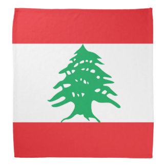 Lebanon Flag Head Kerchiefs