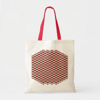 Lebanon Flag Hearts Bag