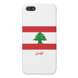Lebanon Flag iPhone 5 Covers