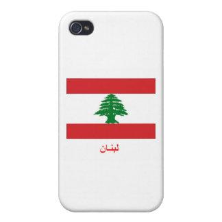 Lebanon Flag Case For iPhone 4