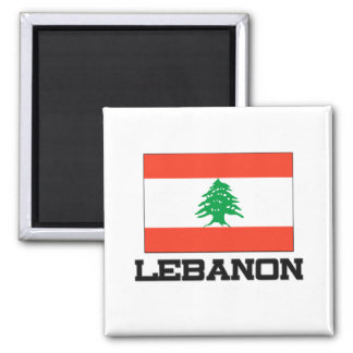 Lebanon Flag Magnet