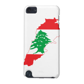 Lebanon Flag Map iPod Touch (5th Generation) Covers