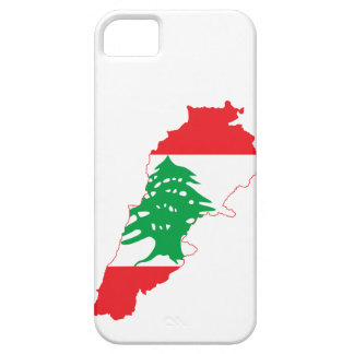 Lebanon Flag Map iPhone 5 Cover