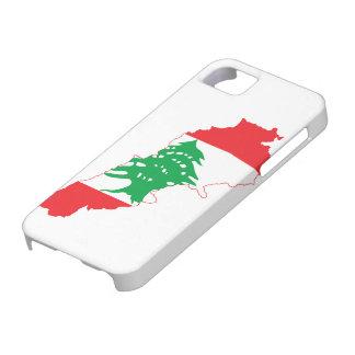 Lebanon Flag Map iPhone 5 Cases