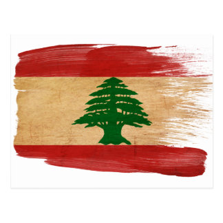 Lebanon Flag Postcards