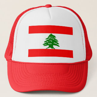 Lebanon Flag Trucker Hat