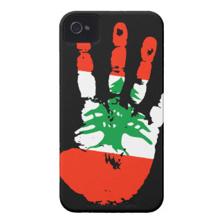 Lebanon Handprint iPhone 4/4S Case-Mate B.T.