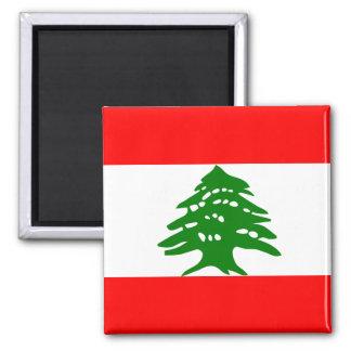 Lebanon High quality Flag Magnet