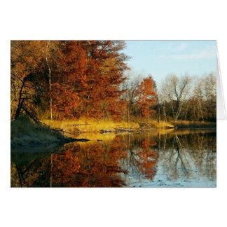 Lebanon Hills Autumn Card
