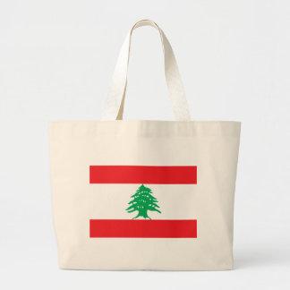 lebanon jumbo tote bag