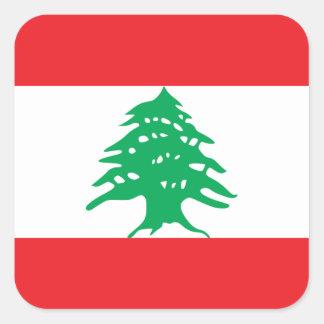 Lebanon/Lebanese Flag Square Sticker