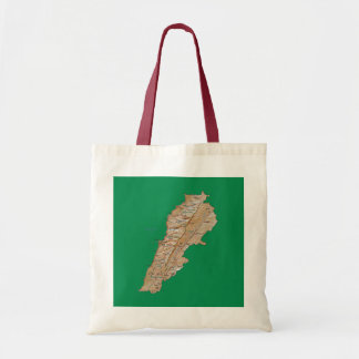 Lebanon Map Bag