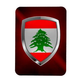 Lebanon Metallic Emblem Magnet