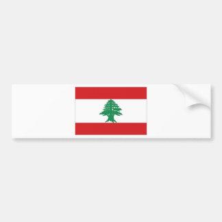 Lebanon National Flag Bumper Sticker