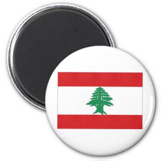 Lebanon National Flag Magnet