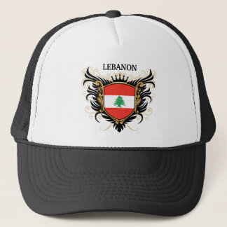 Lebanon [personalize] trucker hat