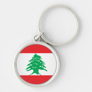 lebanon Silver-Colored round key ring