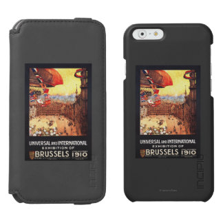 Lebaudy Airship with World Flags at Expo Incipio Watson™ iPhone 6 Wallet Case