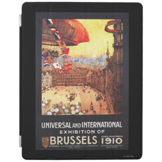 Lebaudy Airship with World Flags at Expo iPad Cover