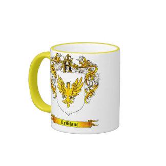 LeBlanc Shield of Arms Ringer Mug
